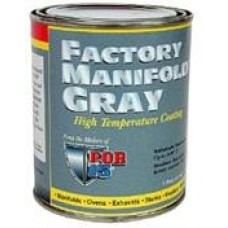 POR Factory Manifold Grey Heat Resistant Paint 1L
